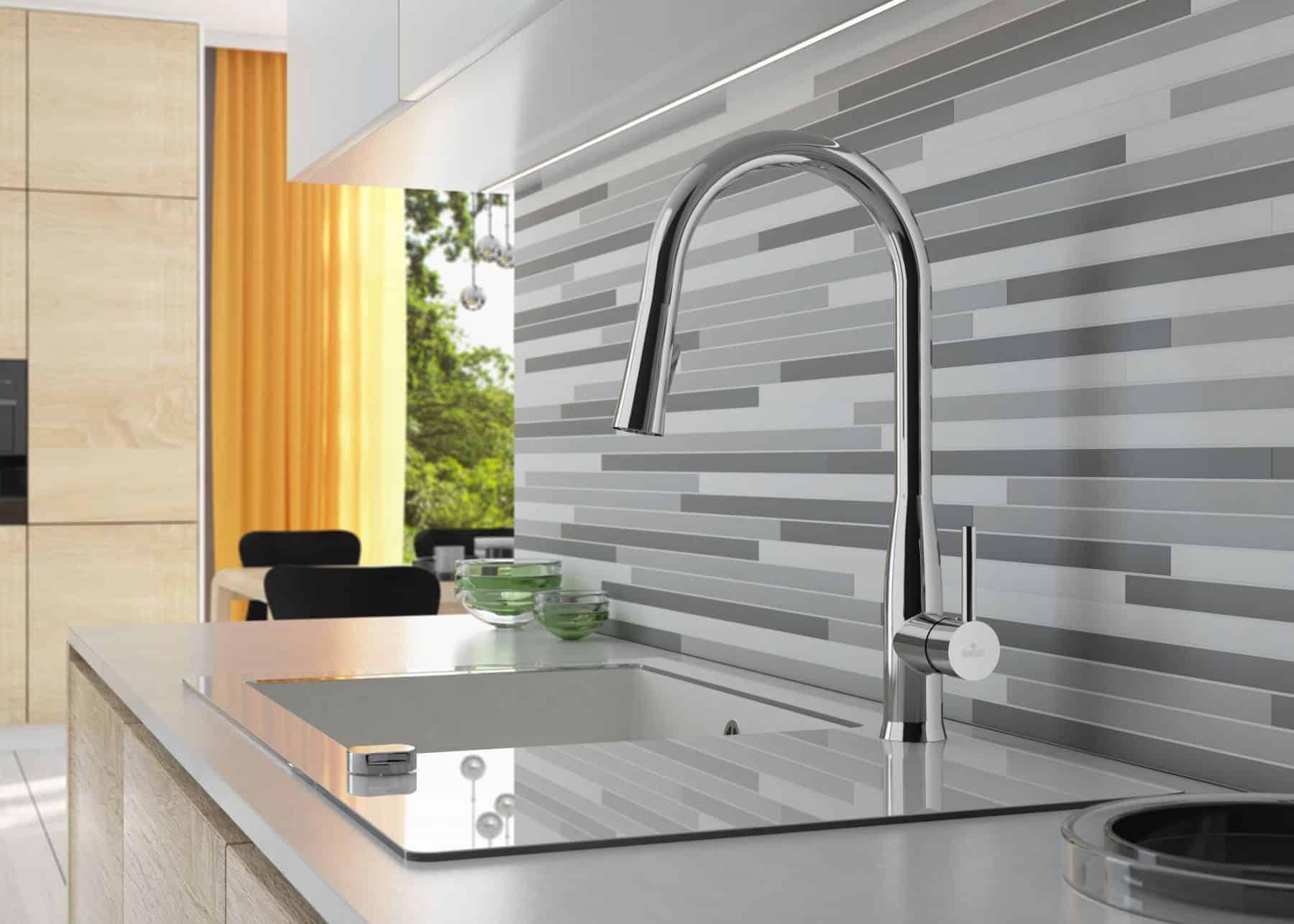 Witte keukenkraan affordable elegant klassieke keukenkraan met
