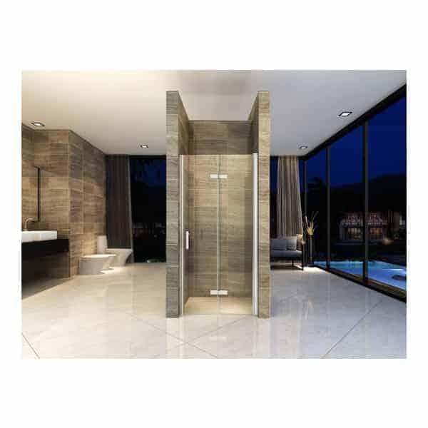douchedeur, nisdeur, vouwbare douchedeur, vouwdeur