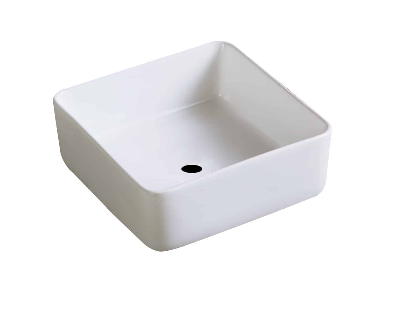 Rechthoekige Witte Wastafel : Wastafel vierkant wit bissel sanitairkiezer