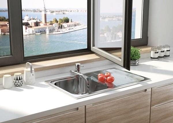 Design Keuken Kraan : Keukenkraan aster neerklapbare hals chroom sanitairkiezer