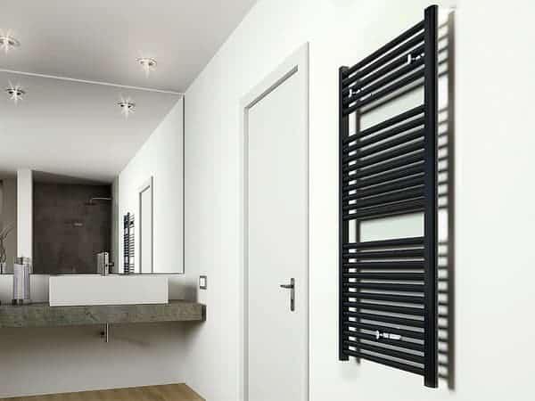 radiator, matzwarte radiator, zwarte radiator, mat zwarte radiator