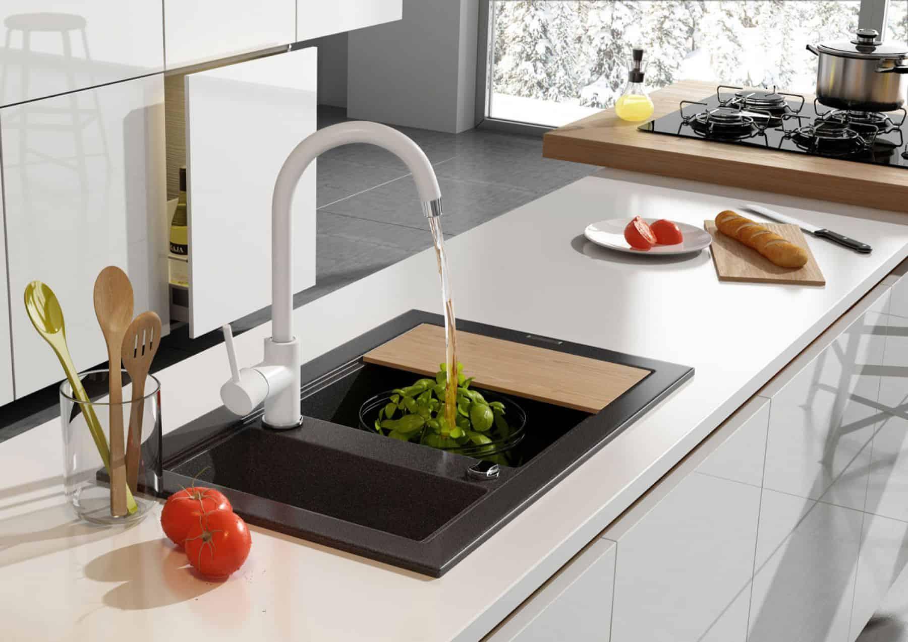Design Keuken Kraan : Keukenkraan milin diverse kleuren sanitairkiezer