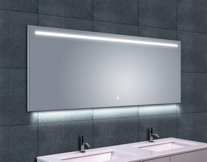Spiegel Met Verwarming : Spiegel dimbare ledverlichting verwarming ambi one sanitairkiezer