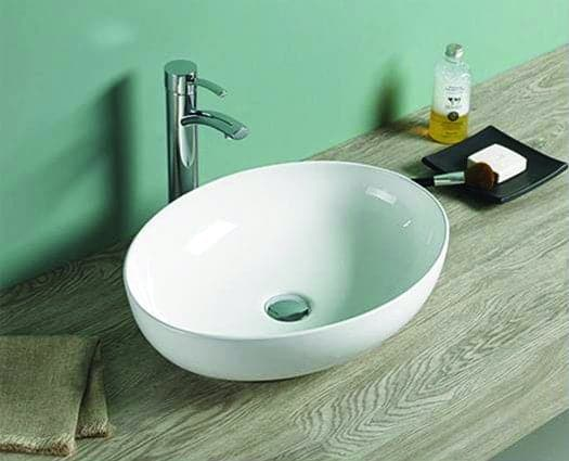 Rechthoekige Witte Wastafel : Wastafel waskom wit lilium arena sanitairkiezer