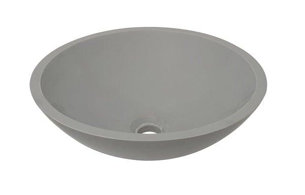 Waskom wastafel solid surface wiesbaden betonlook sanitairkiezer